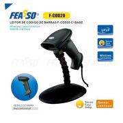 Leitor de Codigo de Barras USB com Base e Leitura Continua FCOD-20