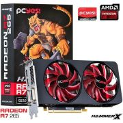 Placa de Video Radeon R7 265 2GB DDR5 256BITS - PC YES