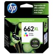 Cart Tinta ORG HP 662XL Color CZ106AB