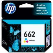 Cartucho de Tinta Original HP 662 Color CZ104AB