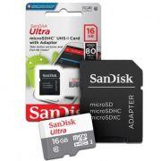 Micro SD Sandisk CLASS 10 16GB