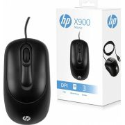 Mouse HP USB X900 Preto