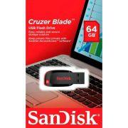 Pen Drive Sandisk Cruzer Blade SDCZ50 64GB