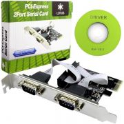 Placa 2PORT Serial PCI-EXPRESS