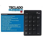 Teclado Numerico Wireless KNUP KP-2038