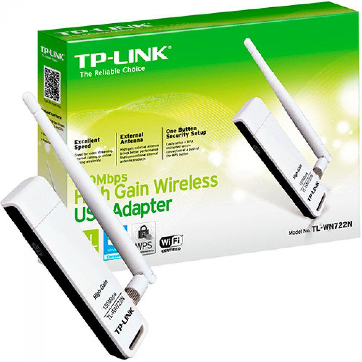 Adaptador Wirelles USB TP-LINK 150MBPS TL-WN77NC  - Sarcompy