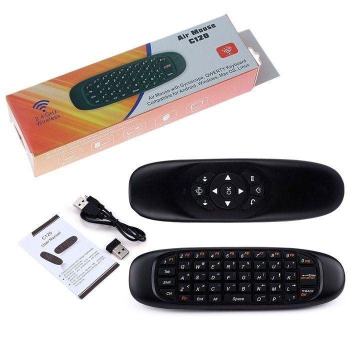 Air Mouse Controle com Sensor de Movimento para SMART TV  - Sarcompy