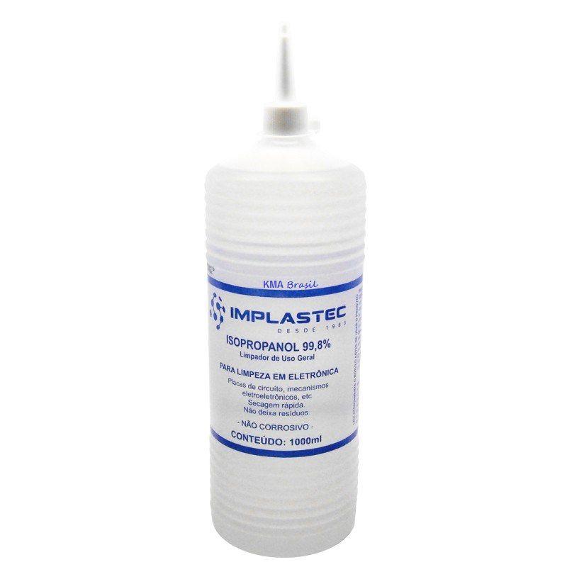 Alcool Isopropilico 1 Litro  C /BICO APLIC  - Sarcompy