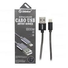 Cabo USB V8 Metalizado 1MT  - Sarcompy
