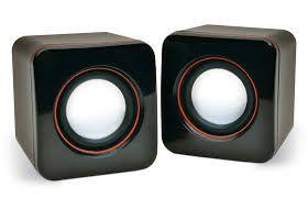 Caixa de Som 2.0 5W Kanko SP-202 USB Preto  - Sarcompy
