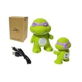 Caixa de Som Tartaruga Ninja D-BH1022  - Sarcompy