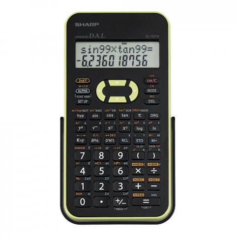 Calculadora Eletr.dig.sharp MOD.EL531XBGR  - Sarcompy