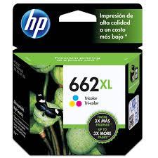 Cart Tinta ORG HP 662XL Color CZ106AB  - Sarcompy