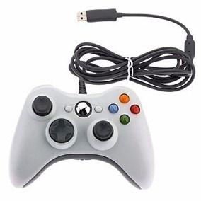 Controle Joystick para X-BOX 360 com Fio USB  - Sarcompy