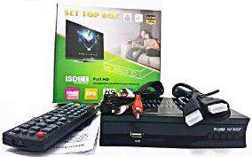 Conversor Digital para TV de Aluminio com Visor ITV-500  - Sarcompy