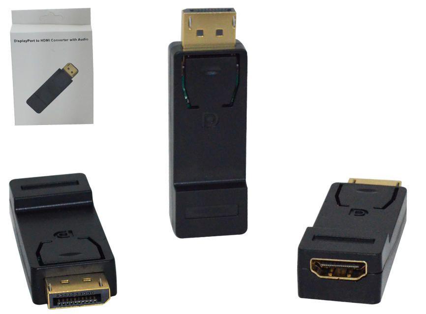 Conversor Displayport Macho 1.1 para HDMI Femea  - Sarcompy