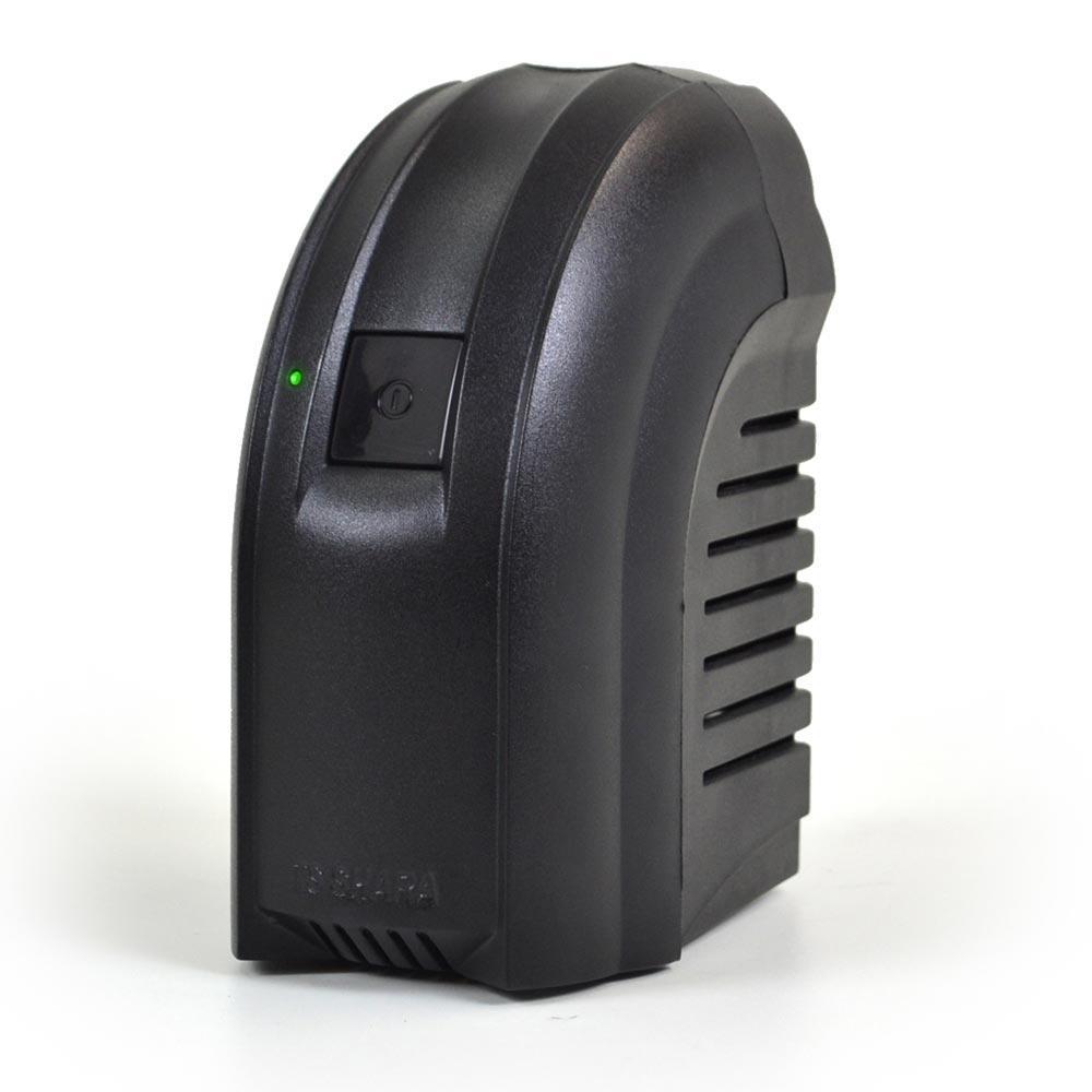 Estabilizador TS Shara 300VA Bivolt Powerest 4 Tomadas Preto 9001 N. Serie 190351081 190351082  - Sarcompy