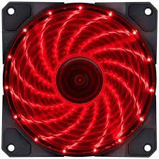 Fan GAB. V.lumi 15 LED 120X120 VERM  - Sarcompy
