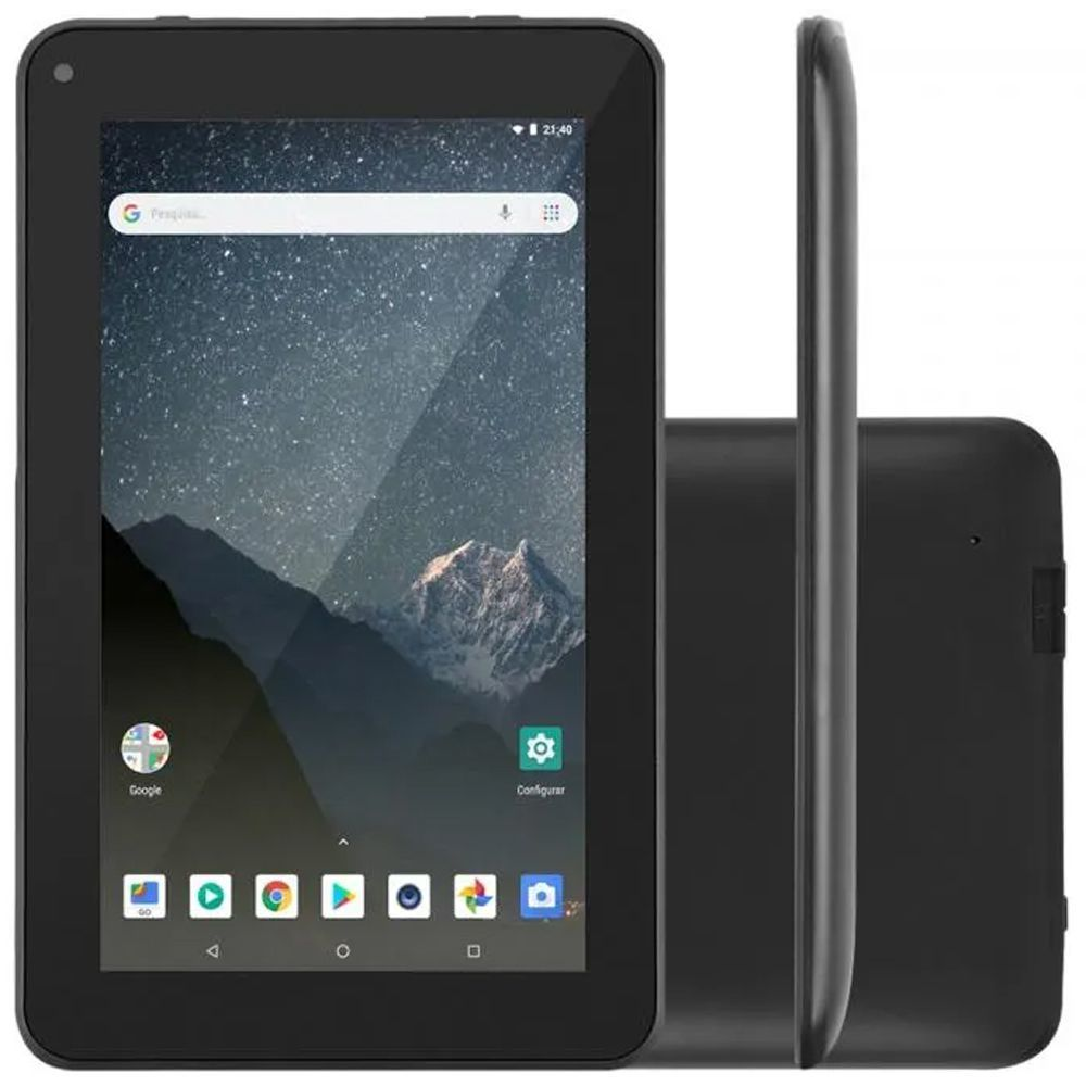 Tablet Multilaser M7S GO 16GB - Tela 7 POL Preto NB316 - 1GB de RAM  - Sarcompy