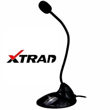 Microfone de Mesa Preto -  XD2034  - Sarcompy
