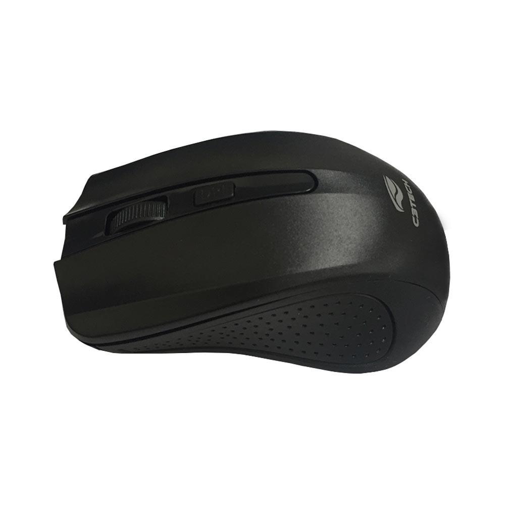 Mouse C3 TECH M-W20BK S/FIO RC Nano -PRETO  - Sarcompy