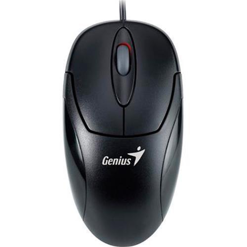 Mouse Optico PS2 XSCROLL Preto Genius  - Sarcompy
