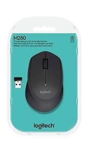 Mouse S/FIO RC/NANO M280 Preto Logitech  - Sarcompy