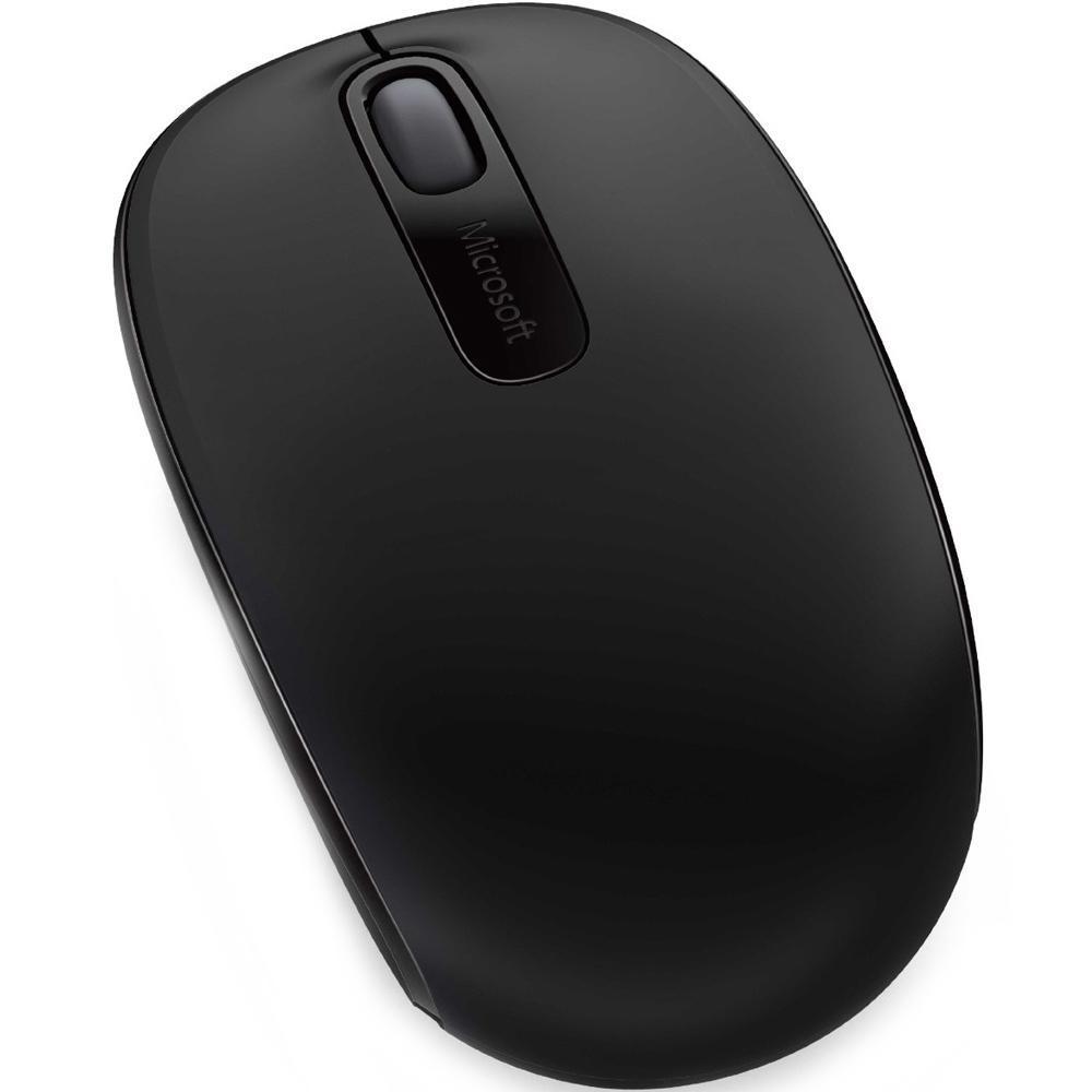 Mouse sem Fio Microsoft 1850 Preto  - Sarcompy