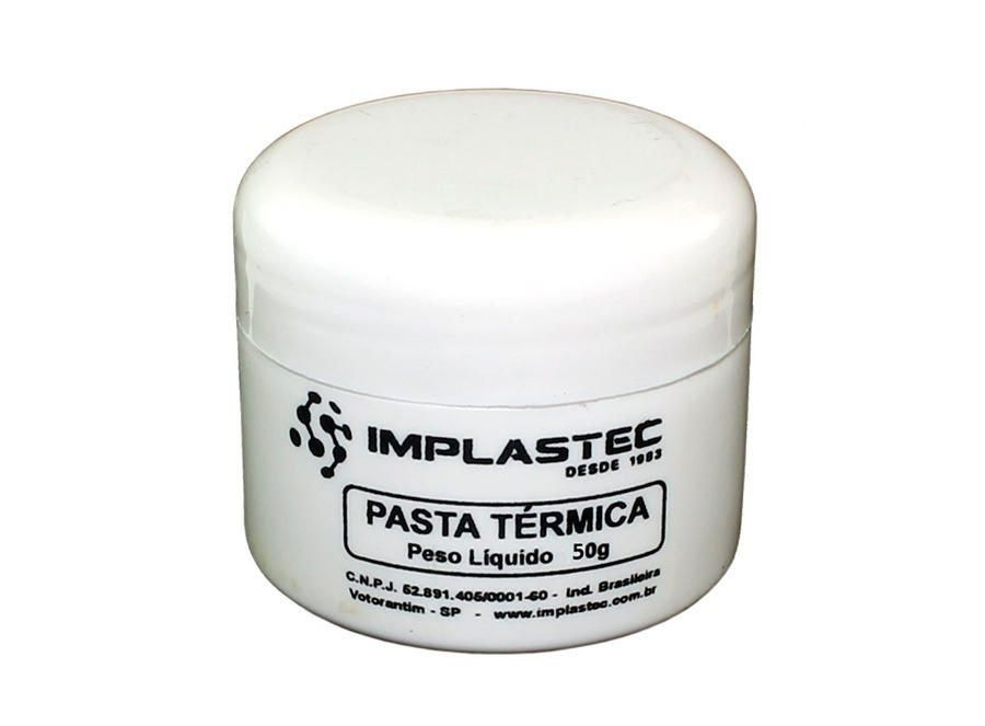 Pasta Termica Thermal Silver Pote 50G  - Sarcompy