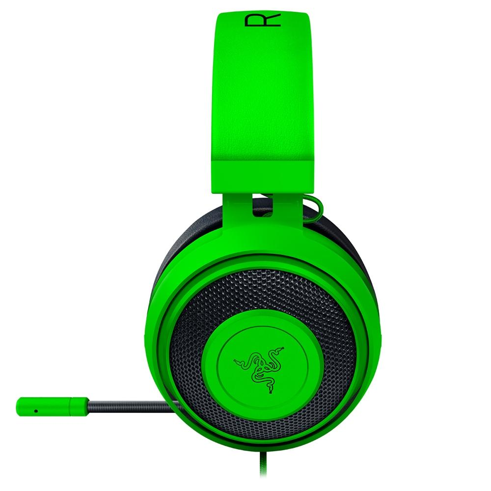 Razer Audio Kraken PRO V2 Green OVAL  - Sarcompy