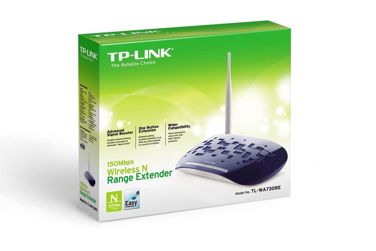 Roteador Extensor Wifi 150M TPLINK TL-WA730RE  - Sarcompy