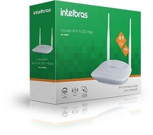 Roteador Wireless N 300MBPS IPV6 IWR 3000N - Intelbras  - Sarcompy