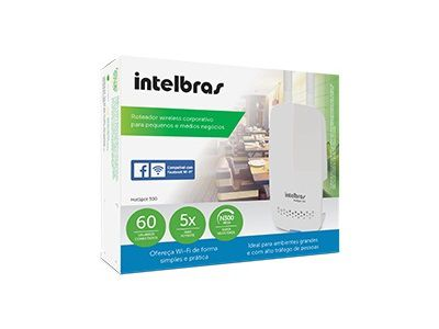 Roteador Wireless N Corporativo Hotspot 300 Intelbras  - Sarcompy