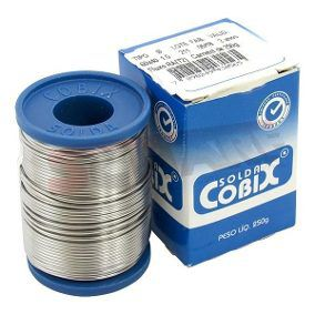 Solda Cobix 1.0MM 60X40 250G  - Sarcompy