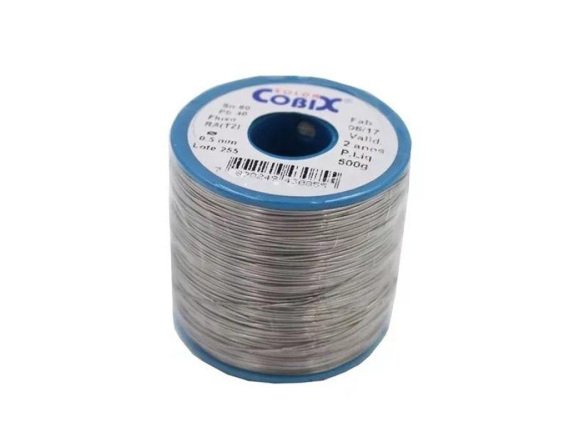 Solda Cobix 1.0MM 60X40 250G  - Sarcompy