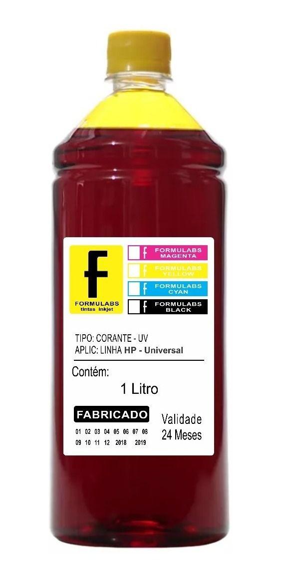 Tinta EPSON Formulabs Yellow 1 LITRO-.  - Sarcompy