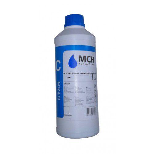 Tinta MCH HP 3000/600/800 CYAN 1 Litro - Importado  - Sarcompy