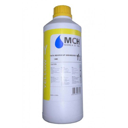Tinta MCH HP 3000/600/800 Yelow 1 Litro - Importado  - Sarcompy