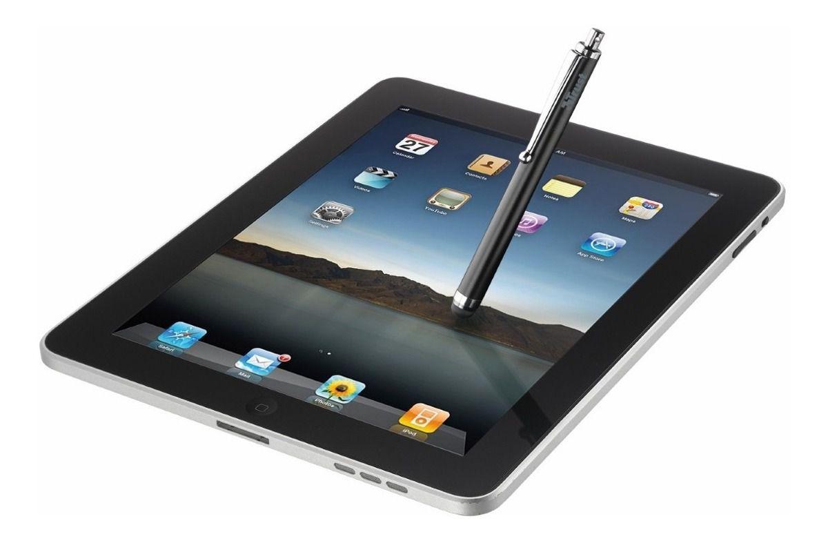 Trust Apontador Caneta Tipo STYLUS para iPad - TRUST STYLUS Pen - Aluminium  - Sarcompy