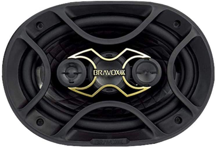ALTO FALANTE 6X9 BRAVOX TRIADRAX. 70W/RMS B4X69G GOLD