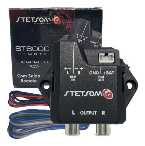 CONVERSOR RCA P/ FIO ALTA/ BAIXA STETSOM ST6000
