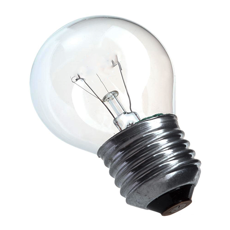 LAMPADA BG45 15W E27 BRANCA BOLINHA 127V