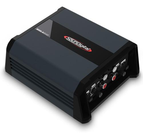 MODULO SOUNDIGITAL SD800.4D EVO 4X200W/2OHMS OU 2X400W/4OHMS
