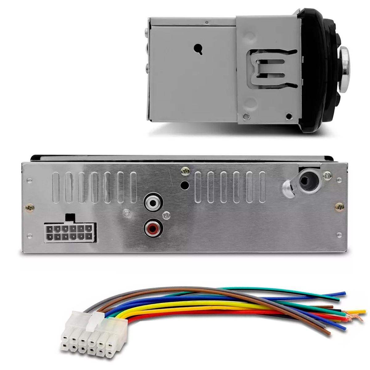 RADIO FIRSTOPTION 6630BN FM/USB/SD/AUX/BLUETOOTH C/ CONTROLE