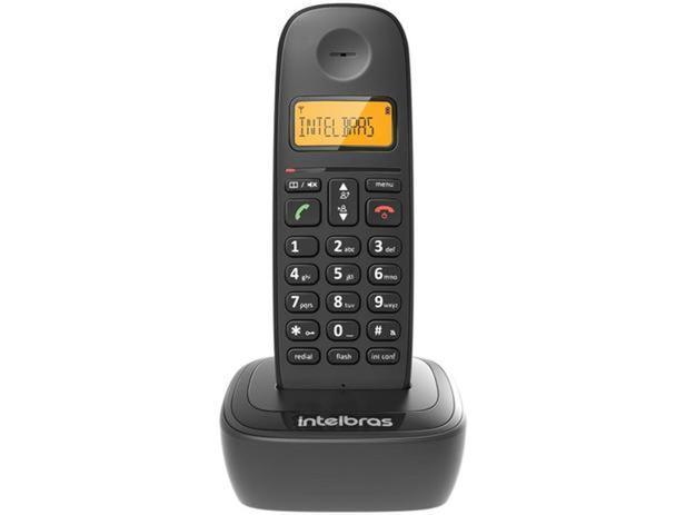 TELEFONE INTELBRAS TS 2510 S/FIO - VISOR LUMINOSO