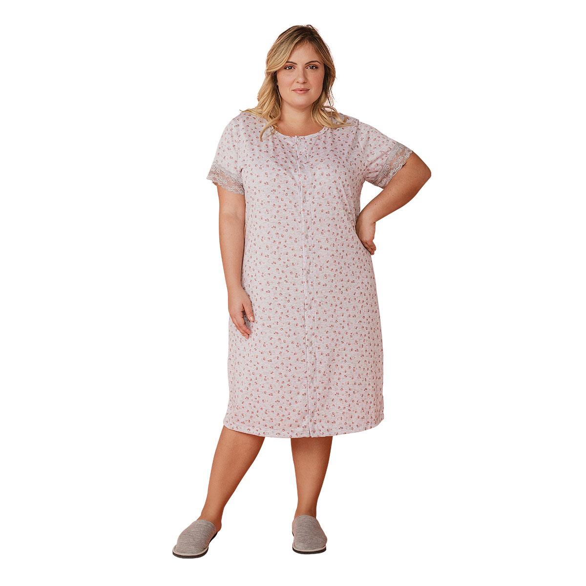 Camisola Feminina Aberta Plus Size Mardelle