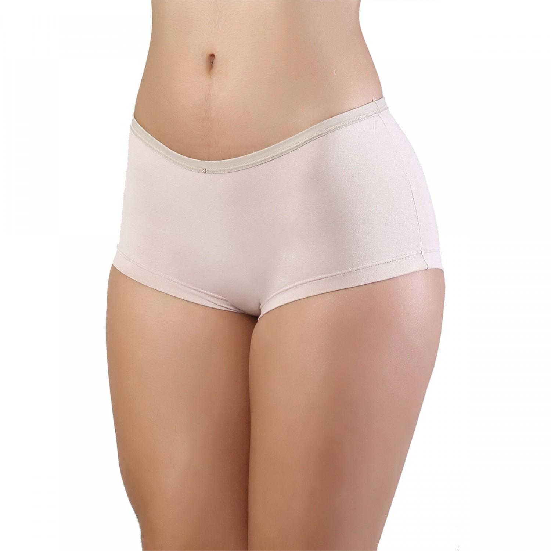 Calcinha Cueca Boxer Feminina Em Cotton Mardelle