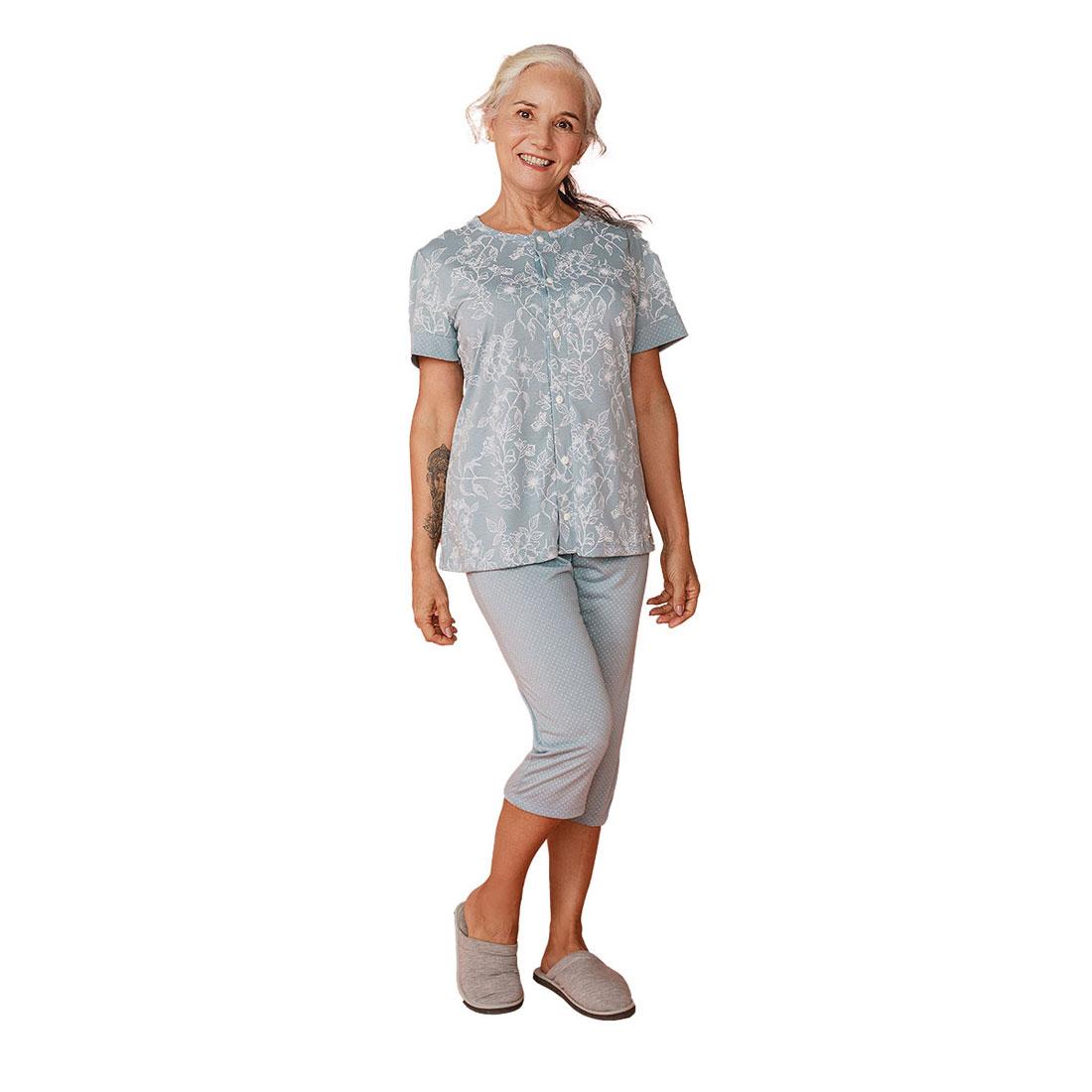 Pijama Feminino Em Malha Aberto Mardelle