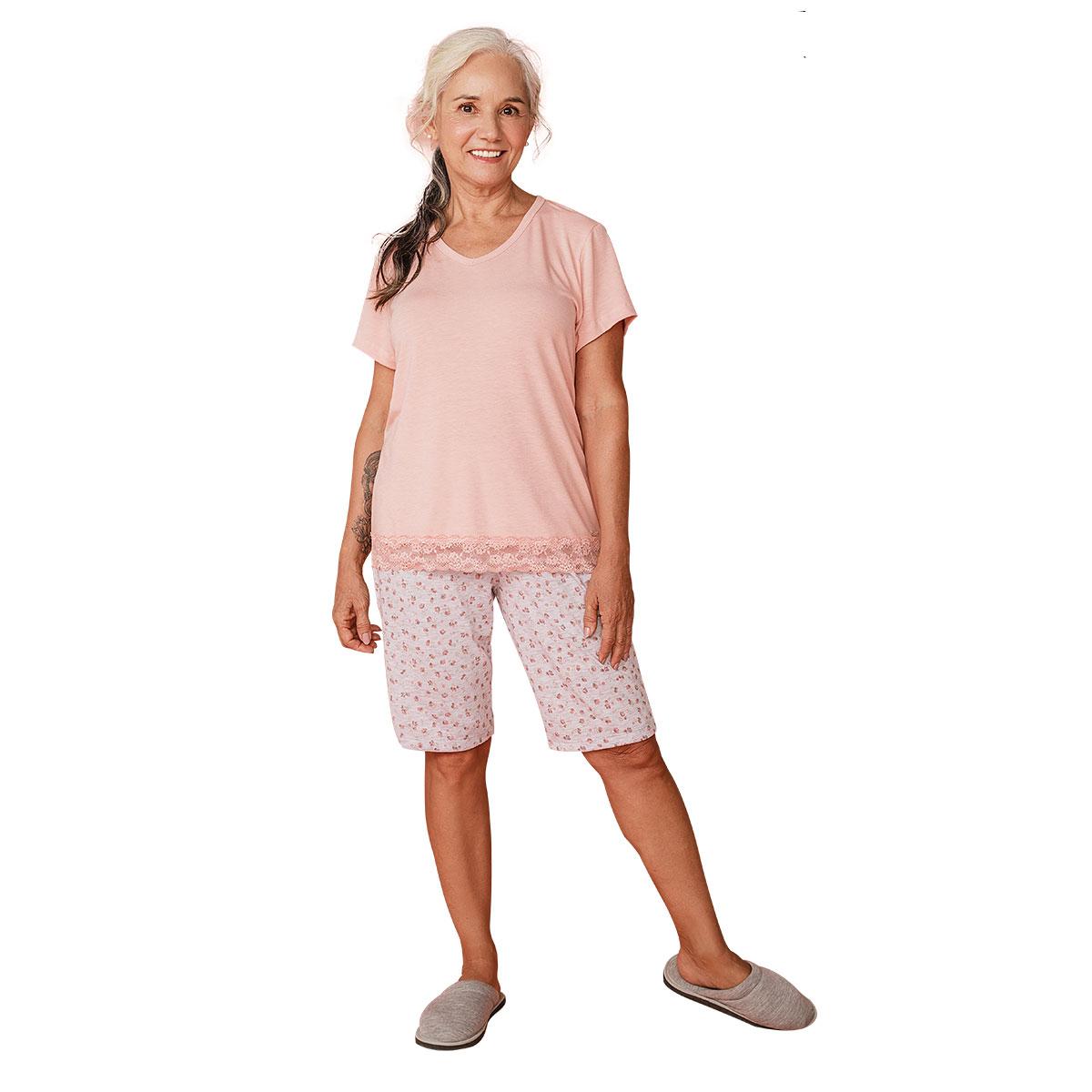 Pijama Feminino Fechado Mardelle