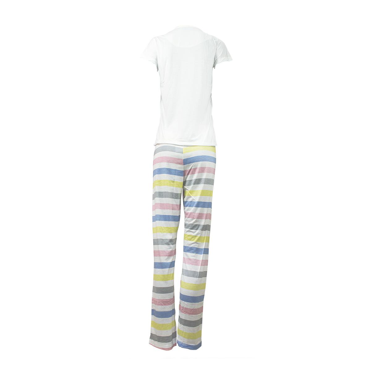 Pijama Feminino Mãe e E Filha Longo  Manga Curta Mardelle
